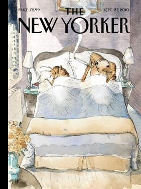 The New Yorker Cover - September 27, 2010 by Barry Blitt