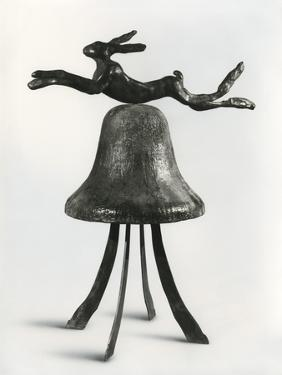 Hare and Bell, 1981 by Barry Flanagan
