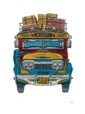 Colombian Bus by Barry Goodman