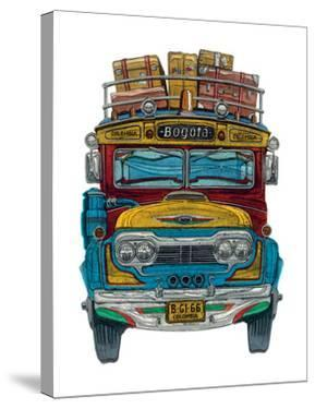 Columbian Bus by Barry Goodman