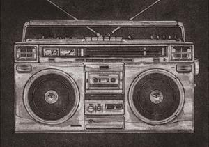 Ghetto Blaster by Barry Goodman