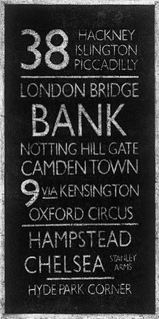 London Destinations by Barry Goodman