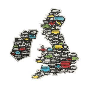 Motorway Map by Barry Goodman