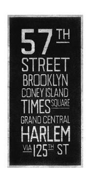 New York Destination by Barry Goodman