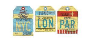 NYC - LON - PAR by Barry Goodman