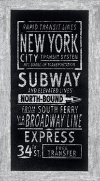Rapid Transit Lines New York by Barry Goodman