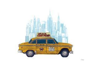 Taxi New York by Barry Goodman