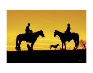 Evening Visit by Barry Hart