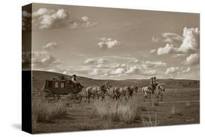 Sombrero Stagecoach by Barry Hart