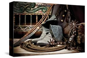 TC's Boots and Yuma Spurs (color) by Barry Hart