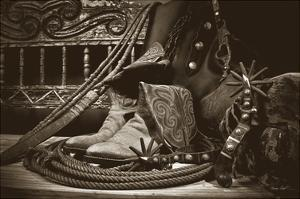 TC's Boots and Yuma Spurs by Barry Hart