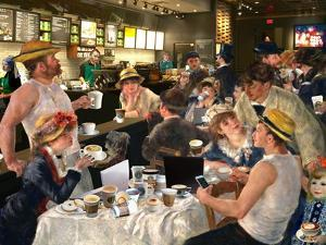 Luncheon of the Cappuccino Party by Barry Kite