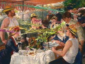 Luncheon of the Projectile Vomit Party by Barry Kite