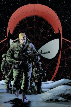 The Amazing Spider-Man No.574 Cover: Flash Thompson by Barry Kitson