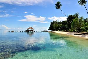 Ora Beach Moluccas Indonesia by Barry Kusuma