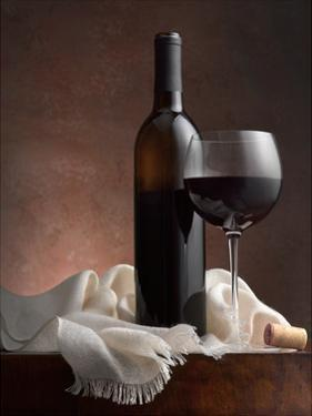 Red Wine And Cork by Barry Seidman
