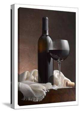 Red Wine & Cork by Barry Seidman