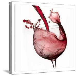 Red Wine Pour 2 by Barry Seidman