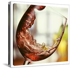 Red Wine Pour by Barry Seidman