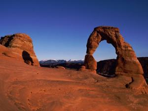 Delicate Arch of Arches National Monument in Moab by Barry Tessman