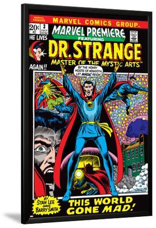 Marvel Premiere No.3 Cover: Dr. Strange by Barry Windsor-Smith