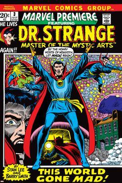 Marvel Premiere No.3 Cover: Dr. Strange by Barry Windsor-Smith