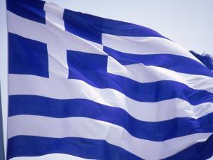 Flag of Greece by Barry Winiker