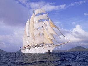 Star Clipper, 4-Masted Sailing Ship by Barry Winiker