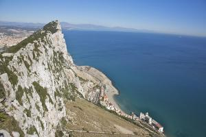 View from Top of the Rock, Gibraltar, U.K. by Barry Winiker