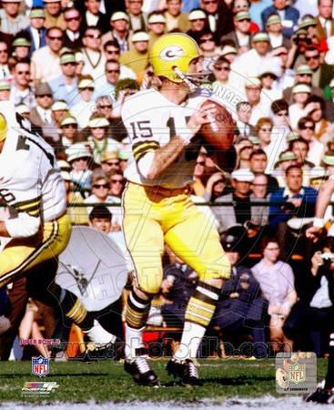 Bart Starr SuperBowl II 1968 Action