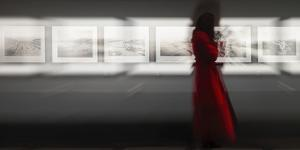 The Woman With the Red Coat by Bartagnan