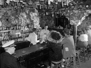 Bartenders and Patrons of the Old Absinthe House