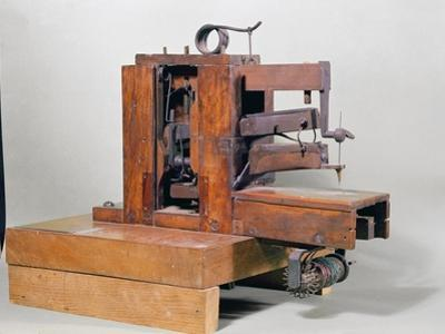 Couseuse, the First Sewing Machine, 1830