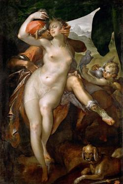 Venus and Adonis, Ca 1595-1597 by Bartholomeus Spranger