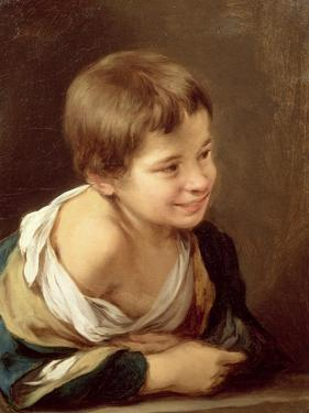 A Peasant Boy Leaning on a Sill, 1670-80 by Bartolome Esteban Murillo