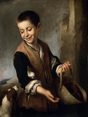 Boy with a Dog, C1650-C1660 by Bartolomé Esteban Murillo