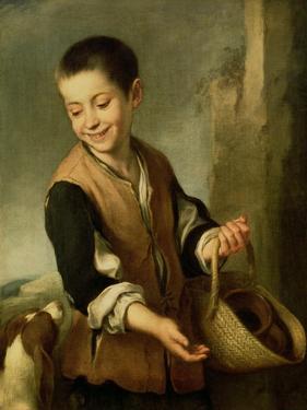 Boy with a Dog, circa 1650 by Bartolome Esteban Murillo