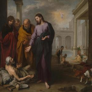 Christ Healing the Paralytic at the Pool of Bethesda, 1667-1670 by Bartolomé Estebàn Murillo