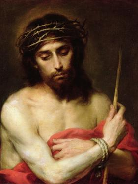 Christ the Man of Sorrows by Bartolome Esteban Murillo