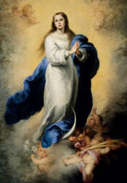 Escorial Immaculate Conception by Bartolome Esteban Murillo