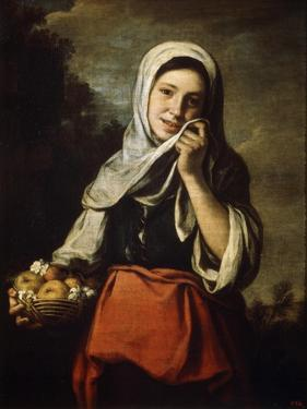 Girl Selling Fruit, C1650-C1660 by Bartolomé Esteban Murillo