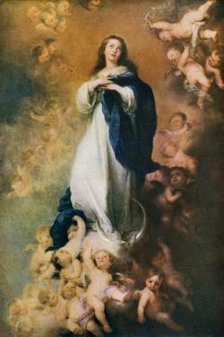 Immaculate Conception, C1678 by Bartolomé Esteban Murillo