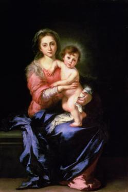 Madonna and Child, after 1638 by Bartolome Esteban Murillo