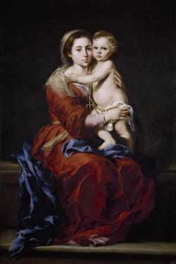 Our Lady of the Rosary, 1650-1655 by Bartolomé Esteban Murillo