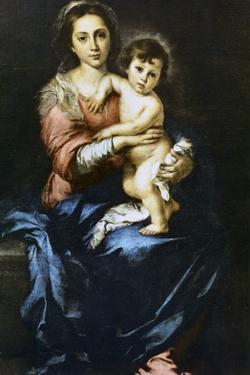 Our Lady with the Child, C1638-1682 by Bartolomé Esteban Murillo