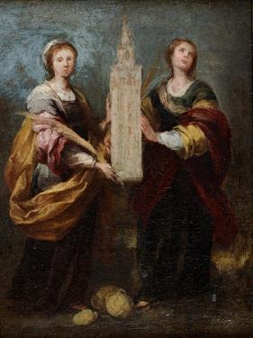 Saints Justa and Rufina, Ca 1665 by Bartolomé Estebàn Murillo