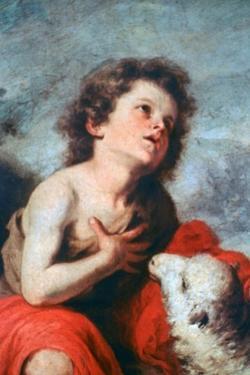 St John the Baptist as a Child, C1665 by Bartolomé Esteban Murillo