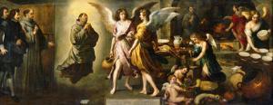 The Angels' Kitchen, 1646 by Bartolome Esteban Murillo