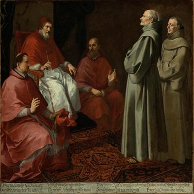 The Blessed Giles Before Pope Gregory IX, c.1645-1646 by Bartolome Esteban Murillo