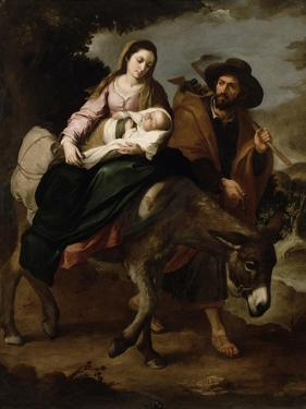 The Flight into Egypt, c.1647/50 by Bartolome Esteban Murillo